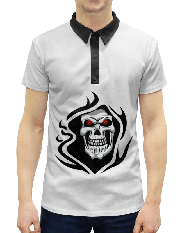 Фото - Рубашка Поло с полной запечаткой Printio Череп рубашка поло с полной запечаткой printio xenoblack