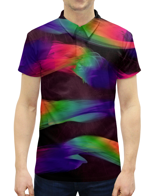 Printio Краски рубашка поло с полной запечаткой printio краски