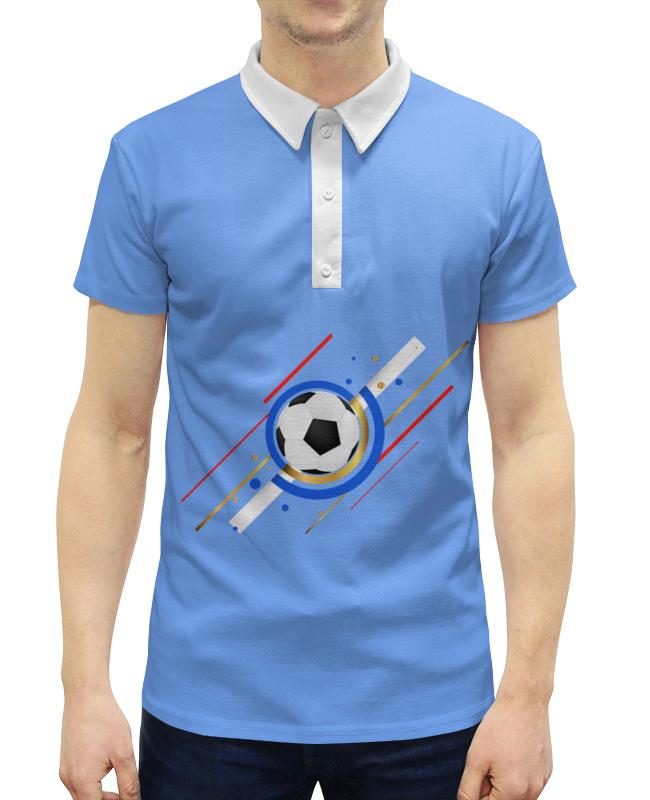 Printio Футбол рубашка поло с полной запечаткой printio футбол