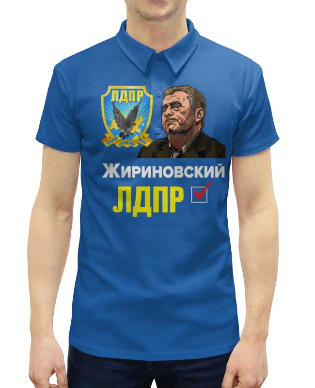 Рубашка Поло с полной запечаткой Printio Лдпр партия №1