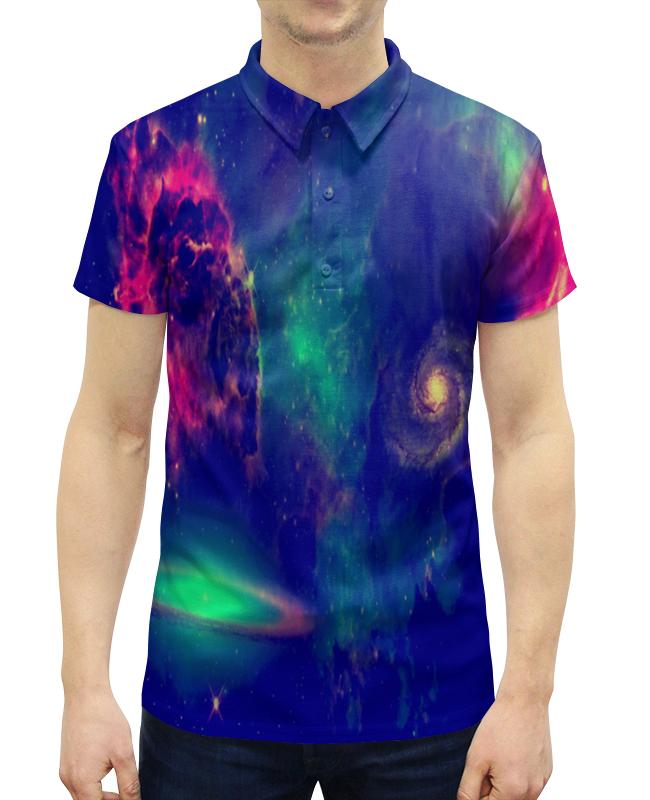 Рубашка Поло с полной запечаткой Printio Звездный