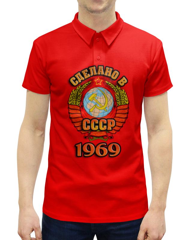 Рубашка Поло с полной запечаткой Printio Сделано в 1969 рубашка поло с полной запечаткой printio сделано в 1973