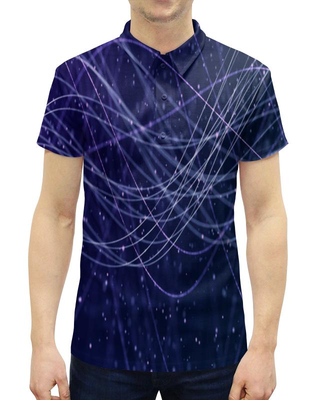 Printio Узор линии рубашка поло с полной запечаткой printio яркие линии