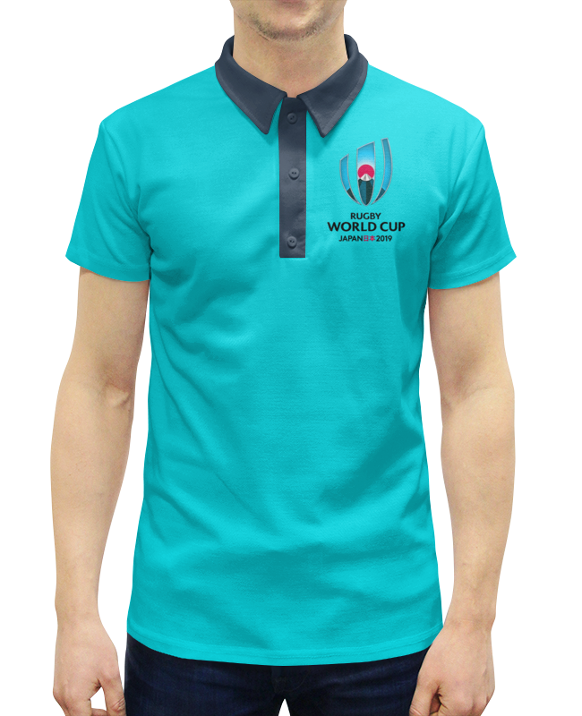 Рубашка Поло с полной запечаткой Printio Кубок мира по регби в японии чемпионат мира по регби 2019 африка 1 победитель утешительного турнира