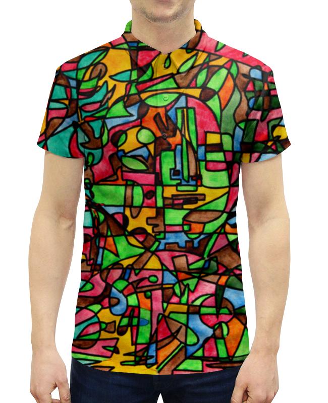 Фото - Рубашка Поло с полной запечаткой Printio Mr3d`v---=' v persie van basten 556688
