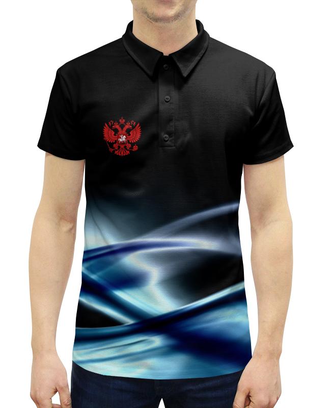 Printio Герб россии рубашка поло с полной запечаткой printio герб рф
