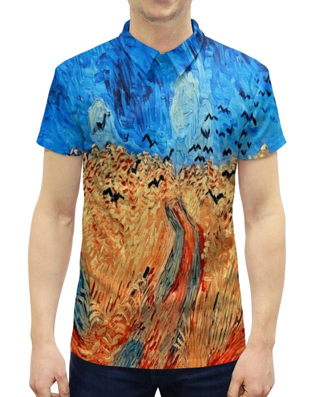 Рубашка Поло с полной запечаткой Printio Живопись масляная живопись yue hao yh0334 7585