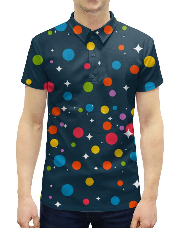 Рубашка Поло с полной запечаткой Printio Диско рубашка поло printio будь готов бгто
