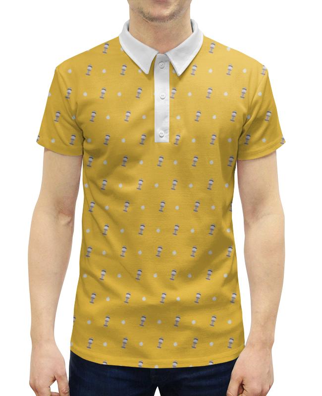 Рубашка Поло с полной запечаткой Printio White tower башня для бросания кубиков dice tower тотем орков