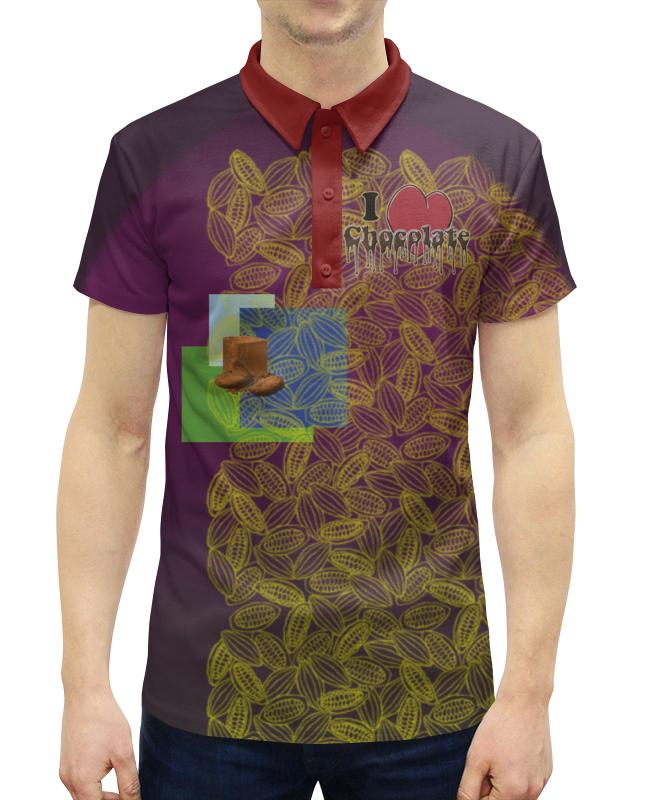 Рубашка Поло с полной запечаткой Printio I