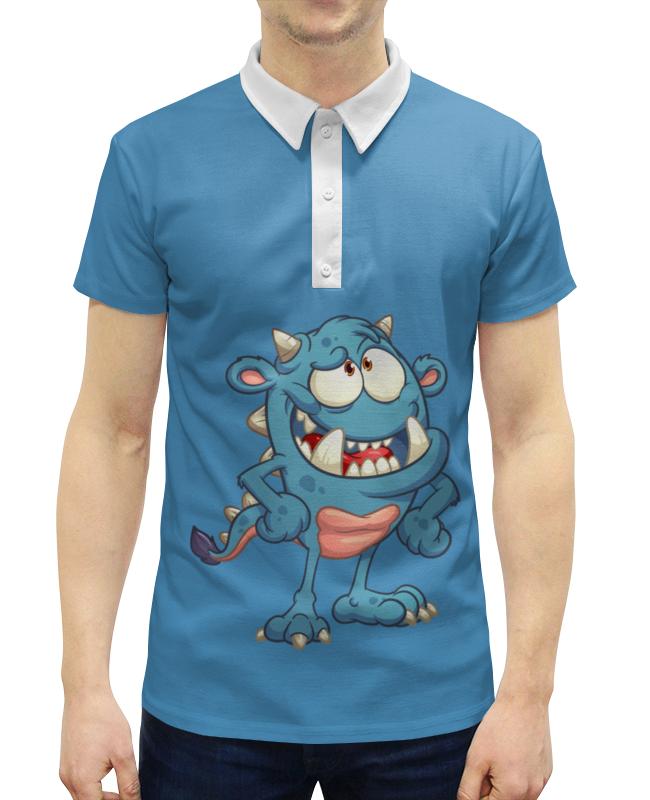 Рубашка Поло с полной запечаткой Printio Монстр рубашка поло с полной запечаткой printio монстр