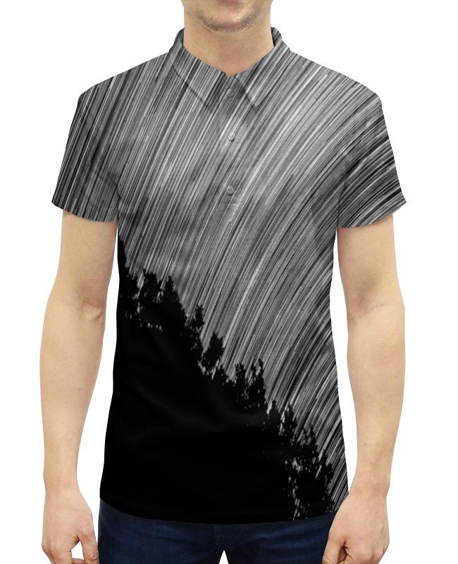 Рубашка Поло с полной запечаткой Printio Эскиз
