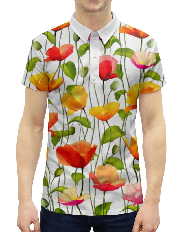 Рубашка Поло с полной запечаткой Printio Маки ясай маки xl