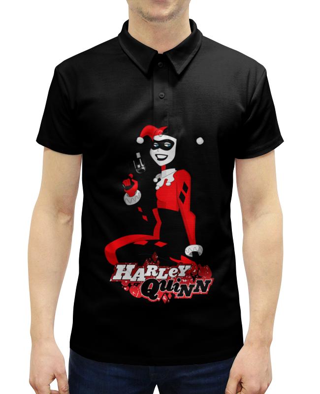 Рубашка Поло с полной запечаткой Printio Harley quinn. харли квинн рубашка поло с полной запечаткой printio harley quinn харли квин