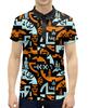 """Рубашка Поло с полной запечаткой """"UFO Style"""" - инопланетянин, фантастика, нло, арт дизайн, пришелцы"""