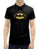 """Рубашка Поло с полной запечаткой """"Бэтмен / Batman"""" - комиксы, batman, джокер, символ"""