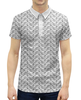 """Рубашка Поло с полной запечаткой """"строгий мужской орнамент пейсли"""" - узор, орнамент, этнический, пейсли"""