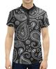 """Рубашка Поло с полной запечаткой """"Пейсли"""" - пейсли, бута, японский огурец, турецкий огурец, персидский кипарис"""