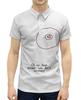 """Рубашка Поло с полной запечаткой """"CD или титя"""" - диск, грудь, cd, не царапать"""