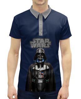 """Рубашка Поло с полной запечаткой """"Звёздные войны"""" - звёздные войны, кино, star wars"""