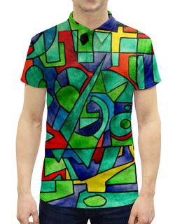 """Рубашка Поло с полной запечаткой """"3VVU-;JJ87"""" - арт, узор, абстракция, фигуры, текстура"""