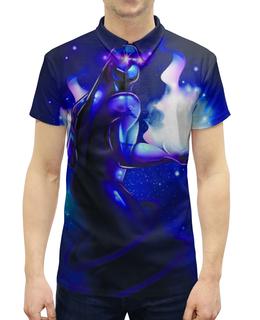 """Рубашка Поло с полной запечаткой """"Enigma"""" - дота 2, enigma, компьтерная игра dota 2"""
