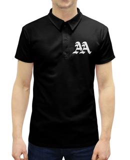 """Рубашка Поло с полной запечаткой """"Asking Alexandria"""" - музыка, рок, группы, asking alexandria, аскинг александриа"""