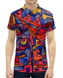 """Рубашка Поло с полной запечаткой """"cbm`db==[]0`"""" - арт, узор, абстракция, фигуры, текстура"""