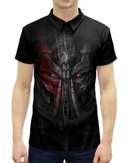 """Рубашка Поло с полной запечаткой """"Трансформеры"""" - кино, transformers, трансформеры"""