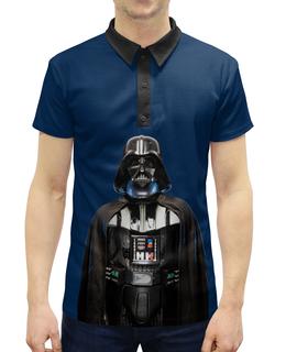 """Рубашка Поло с полной запечаткой """"Звёздные войны"""" - кино, звёздные войны, star wars"""