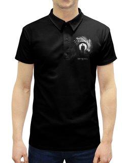 """Рубашка Поло с полной запечаткой """"Skyfall (агент 007)"""" - кино, шпион, агент 007, джеймс бонд, skyfall"""