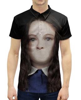 """Рубашка Поло с полной запечаткой """"Сайлент Хилл"""" - страх, игра, кино, ужасы, silent hill"""