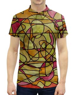 """Рубашка Поло с полной запечаткой """"bdbd--;12"""" - арт, узор, абстракция, фигуры, текстура"""
