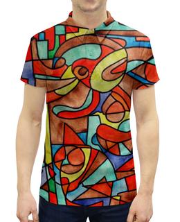 """Рубашка Поло с полной запечаткой """"VM-MV[=]"""" - арт, узор, абстракция, фигуры, текстура"""
