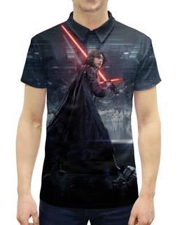 """Рубашка Поло с полной запечаткой """"Звездные войны - Кайло Рен"""" - кино, фантастика, star wars, звездные войны, дарт вейдер"""