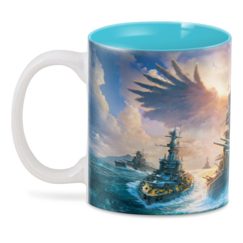 3D кружка Printio World of warships подарочный набор world of warships держи курс