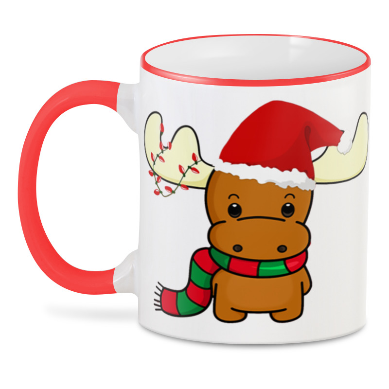 3D кружка Printio Merry christmas кружка printio a very merry x mas
