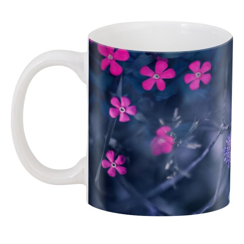 3D кружка Printio Цветы 3d кружка printio 3d летние цветы