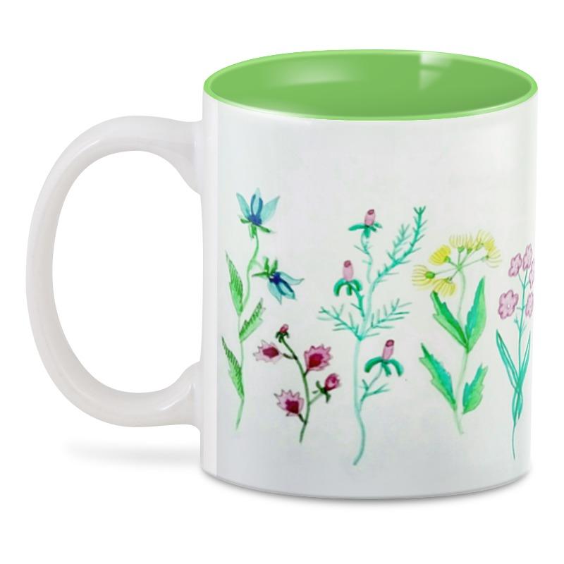 3D кружка Printio 3d луговые цветы ваза луговые маки