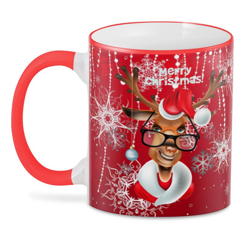 3D кружка Printio Merry christmas кружка loraine merry christmas 340 мл