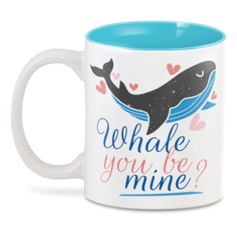 3D кружка Printio Твой кит кружка printio твой день