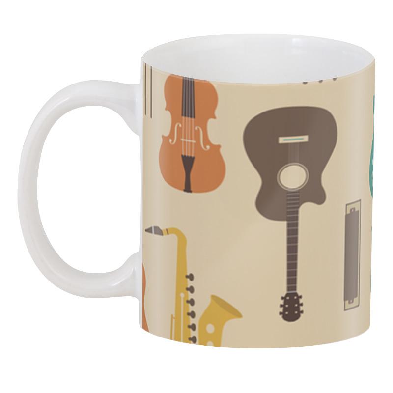 Фото - 3D кружка Printio Музыкальные инструменты инструменты