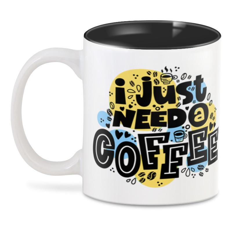 3D кружка Printio Coffee esspero i nova white coffee