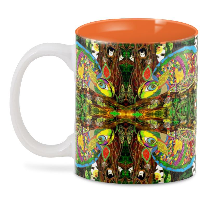3D кружка Printio Радужный чай ii