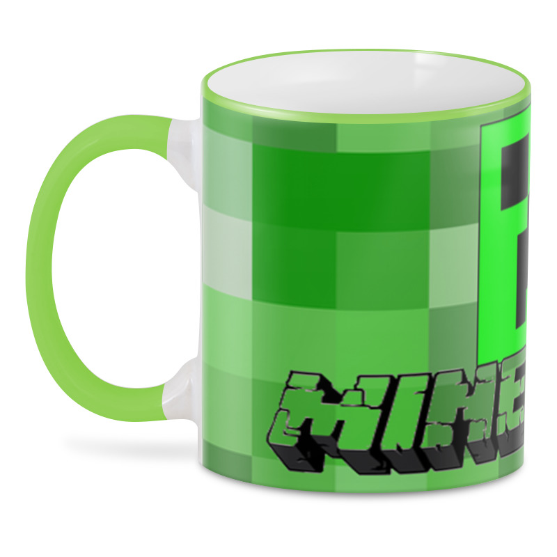 3D кружка Minecraft
