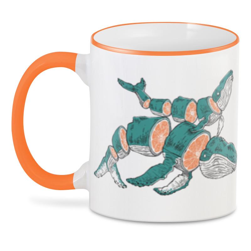 3D кружка Printio Цитрус кит 3d кружка printio оранжевая змея