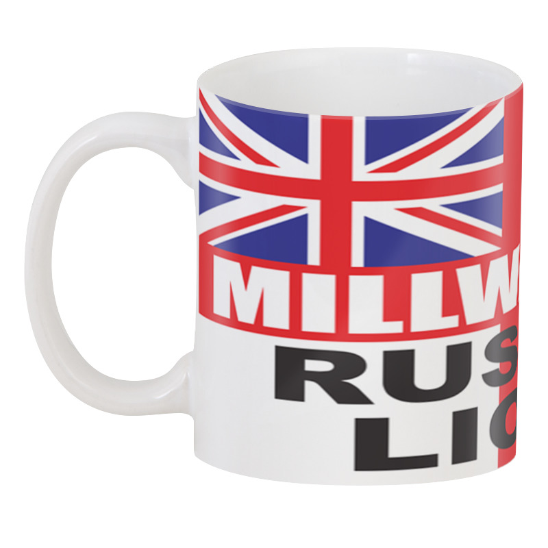 Printio Millwall russian lions cup 3d кружка printio raw cup