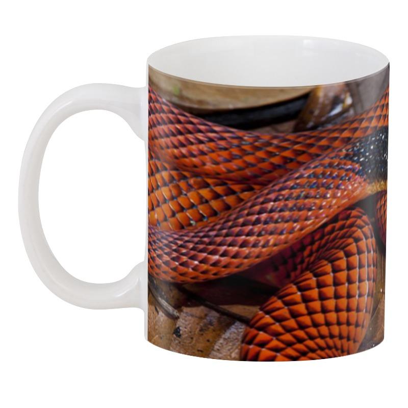 3D кружка Printio Оранжевая змея 3d кружка printio оранжевая змея