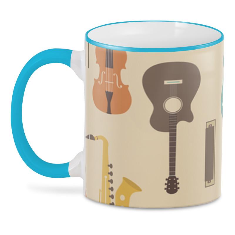 Фото - 3D кружка Printio Музыкальные инструменты музыкальные инструменты