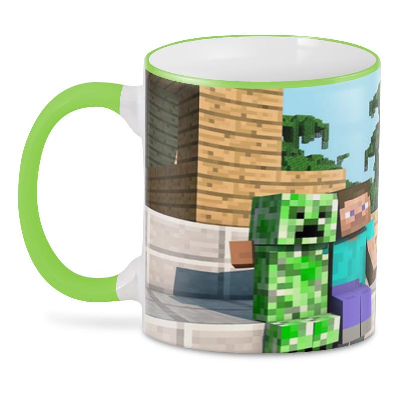 купить 3D кружка Printio Minecraft по цене 870 рублей
